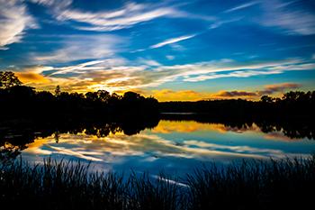 Ell Pond in Melrose MA