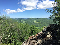 Beautiful views in Vermont
