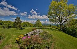 Country Setting in Vermont