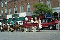 Downtown Woodstock VT
