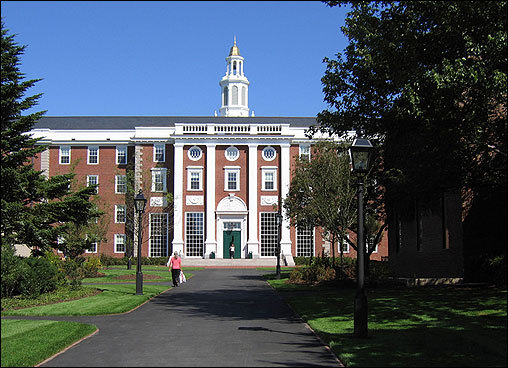 Harvard University in Cambridge