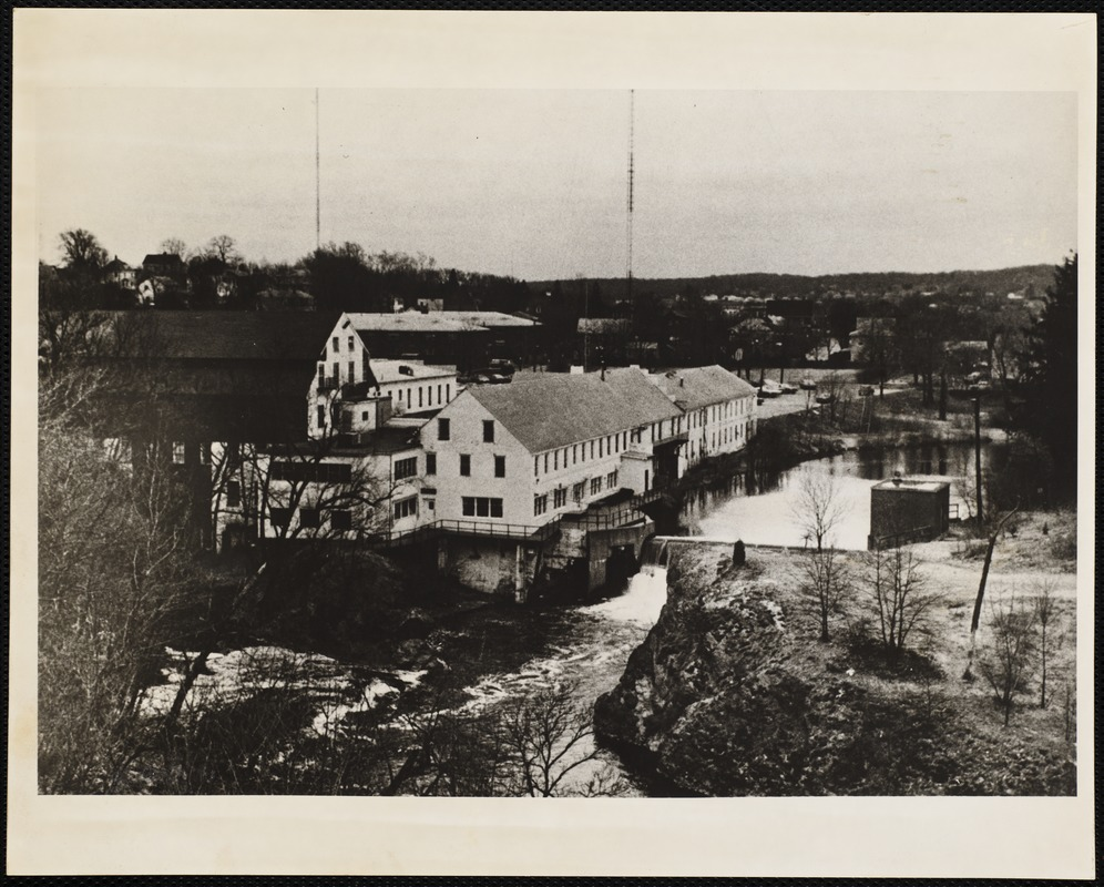 Historic Photos of Newton Upper Falls MA