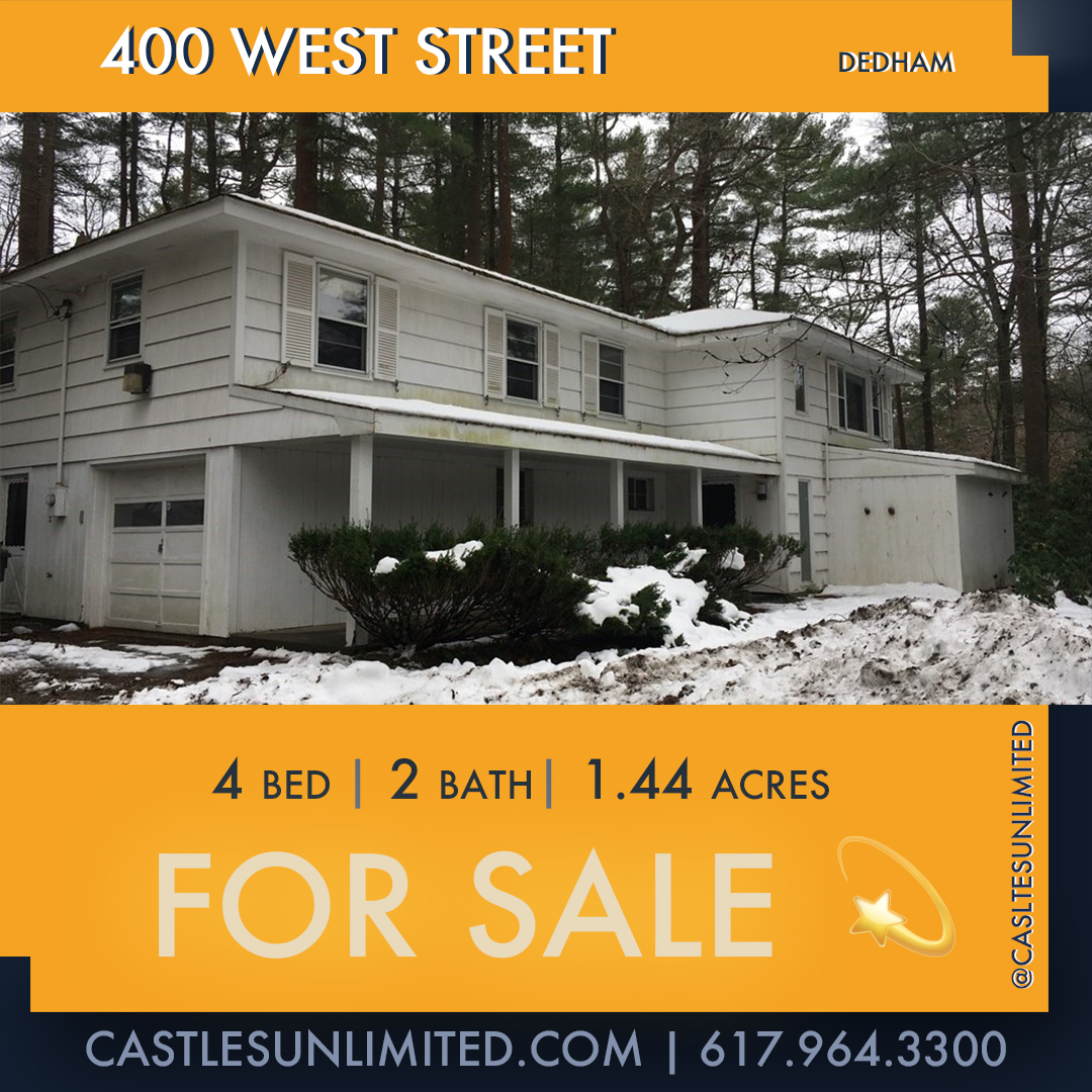 400 West Street, Precinct One/Upper Dedham, Dedham, MA 02026