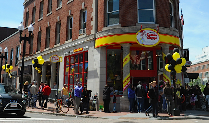curious george store harvard square