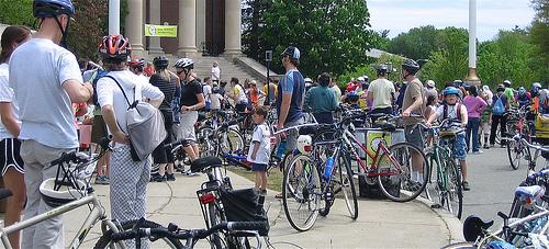 bikenewton.org, biking rally