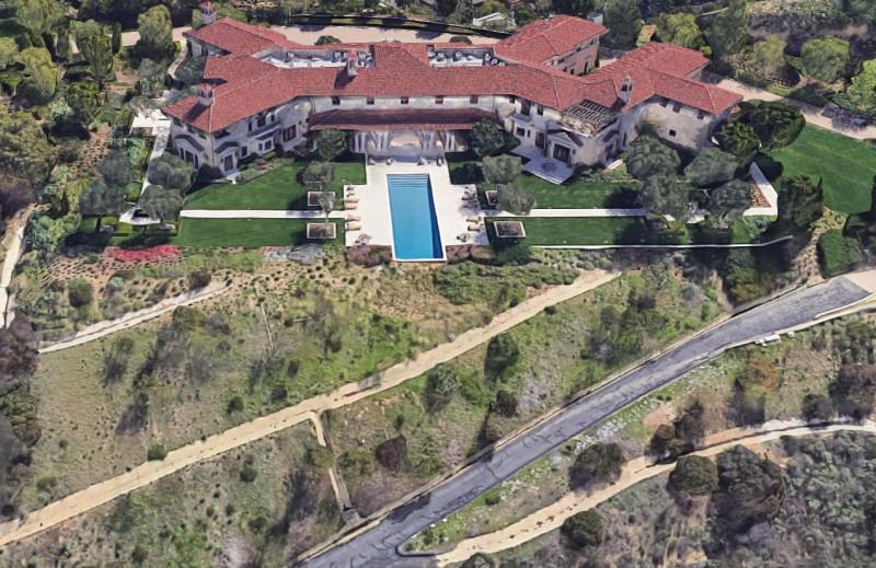 Meghan Markle Prince Harry Tyler Perry LA Home