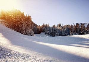 Snowy Okemo Vermont