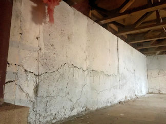 Crumbling Basements in Connecticut