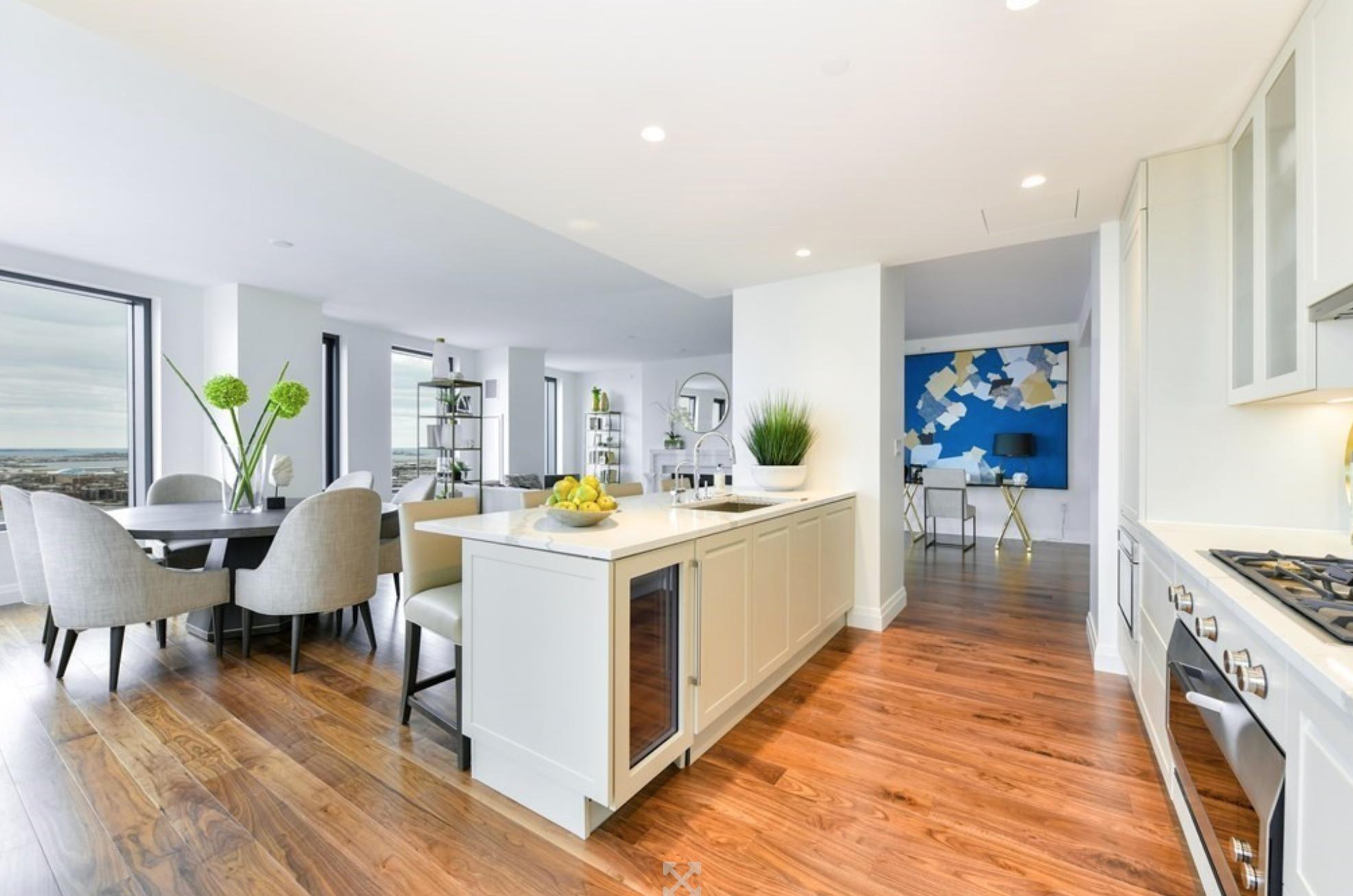 The Sudbury - Interior Kitchen Dining Area