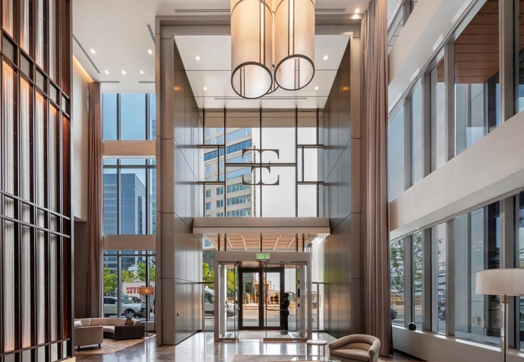 Echelon Seaport Private Lobby