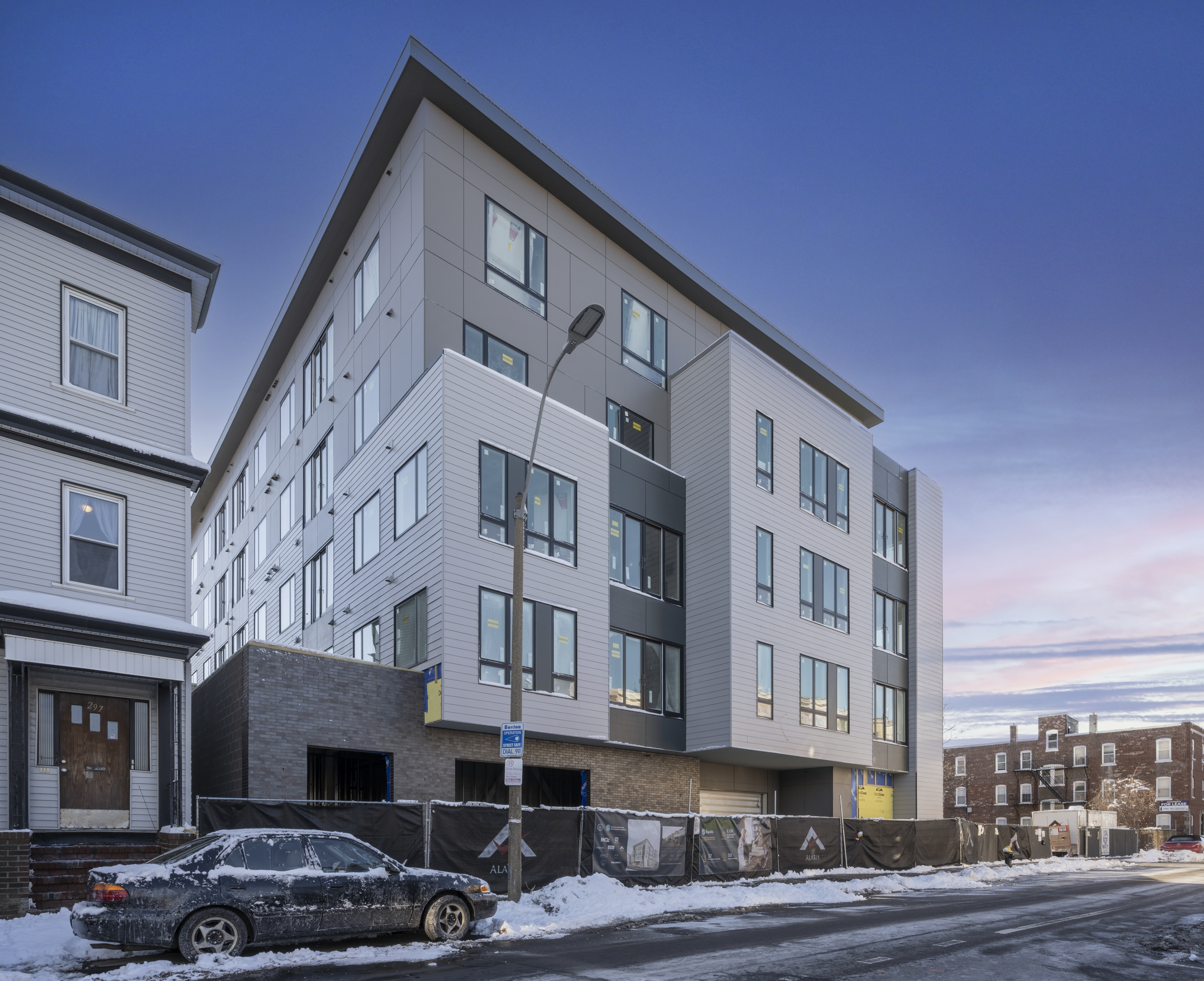 The Two Eight Seven Luxury Condos in East Boston