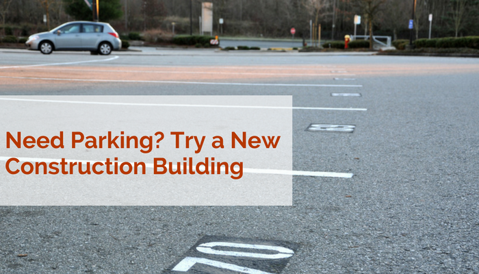 Parking at Boston's new construction buildings