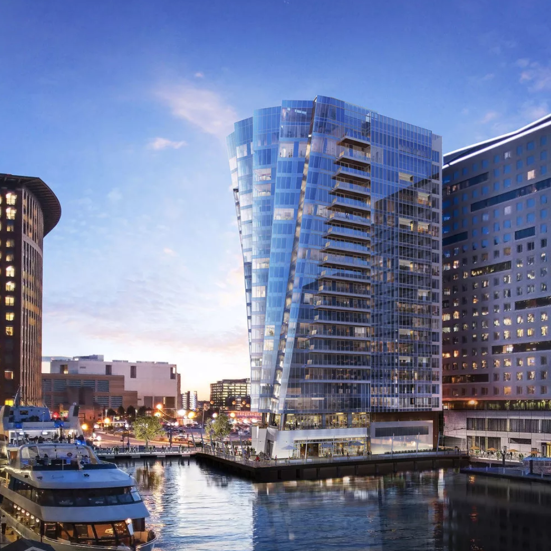 St Regis Residences in Boston's Seaport District