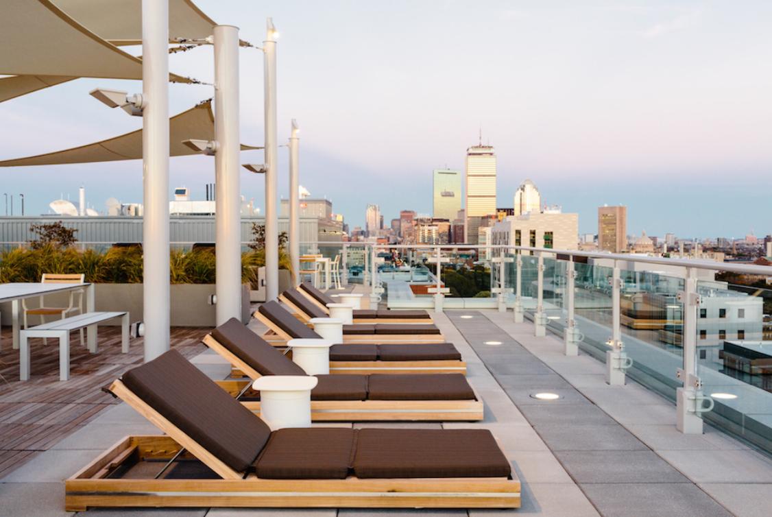 Luxury Rooftop Deck