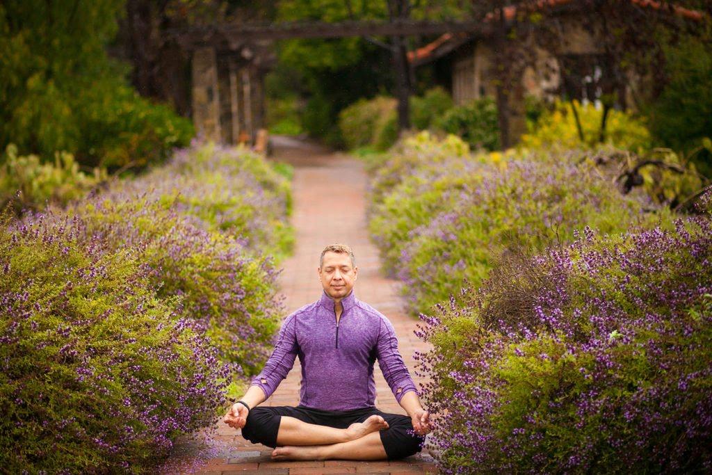Meditating at Rancho La Puerta
