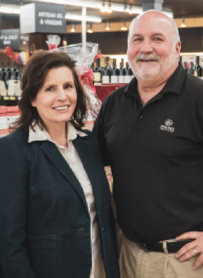 Jennifer and Steve Snead-Smith