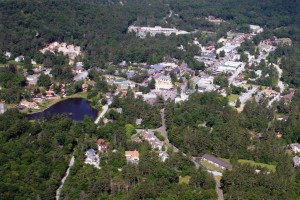Highlands NC Aerial View