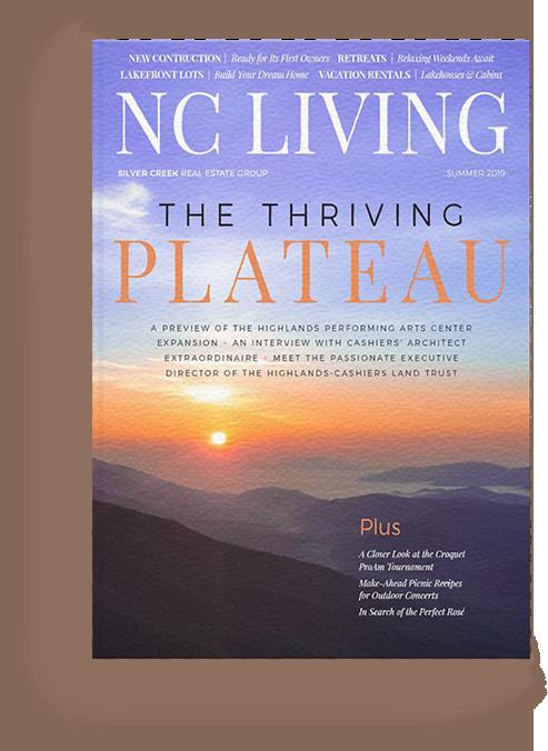 NC Living Magazine Cover
