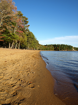 Little Sebago Lake Beach, Windham Maine