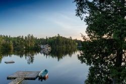 Sebago Lake House with Dock