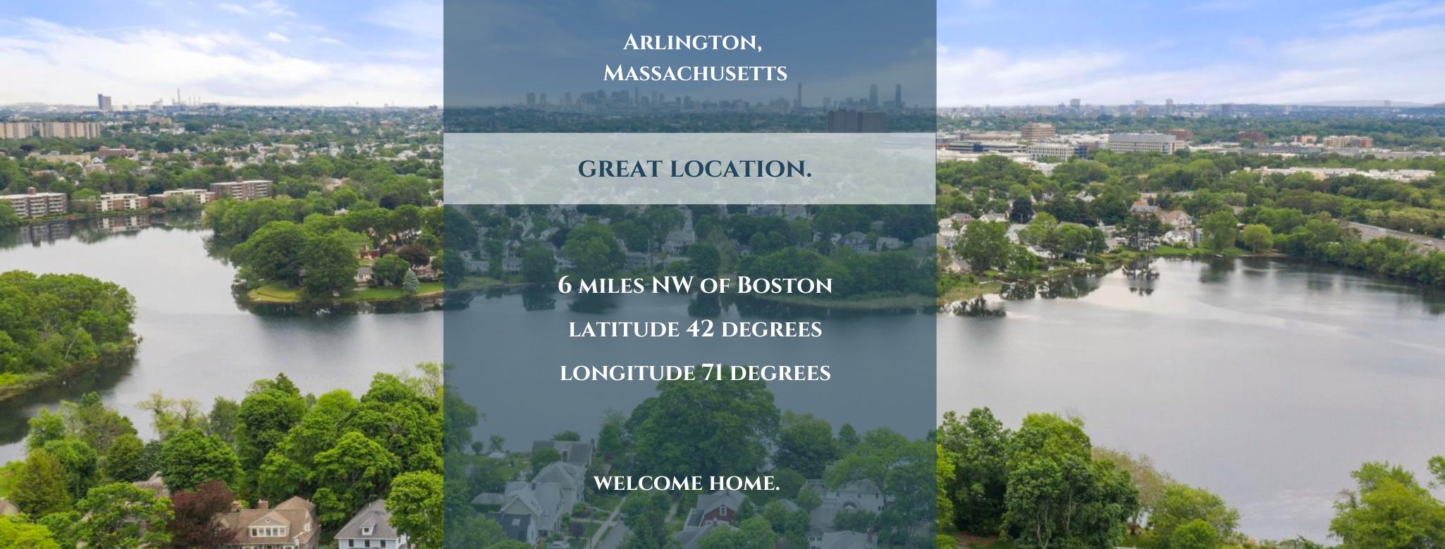 Arlington Ma, Great Location
