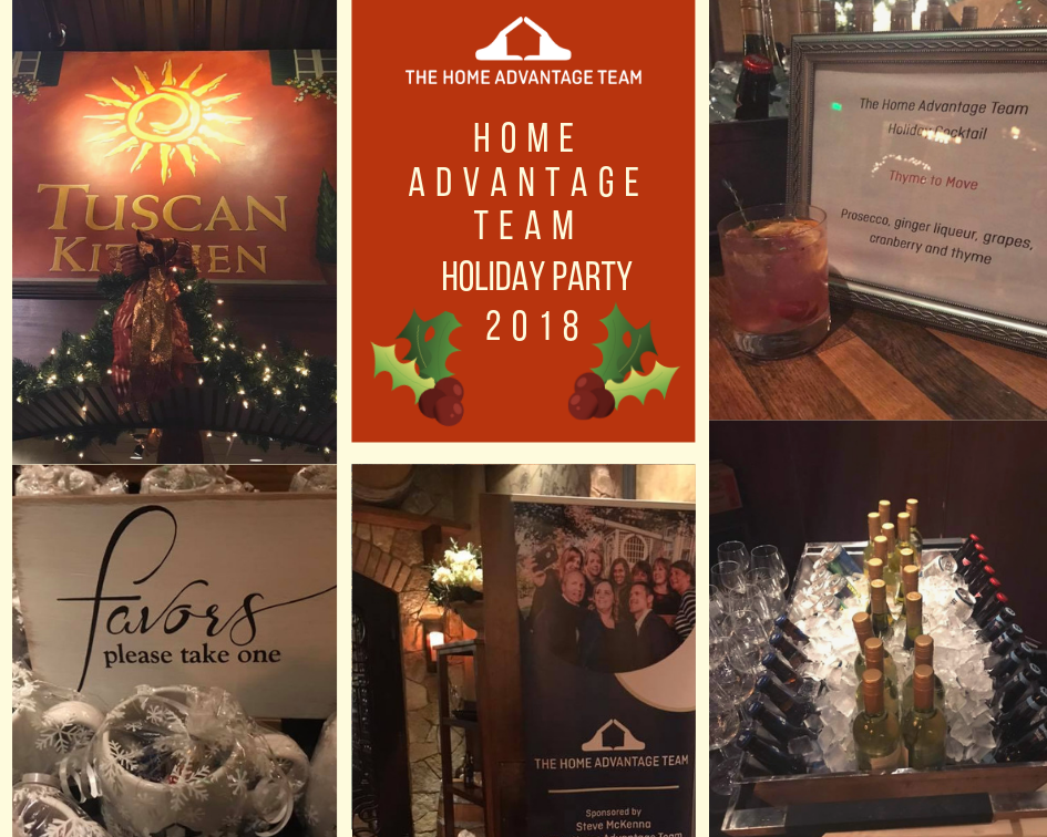 The Home Advantage Team Holiday Party 2018