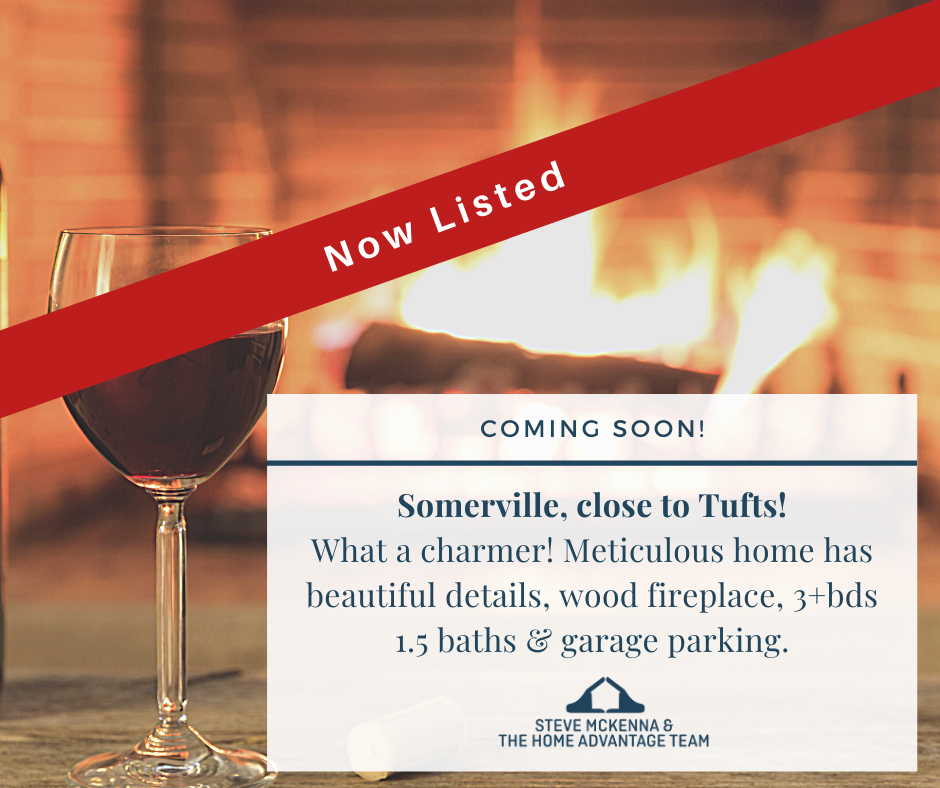 Now Listed in Somerville