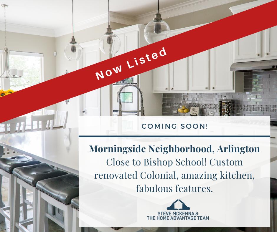 Now Listed in Arlington's Morningside Neighborhood