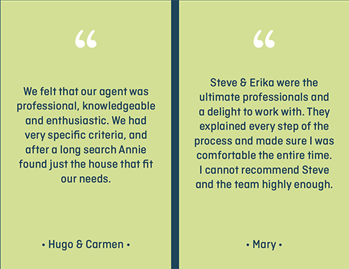 The Home Advantage Team Client Testimonials