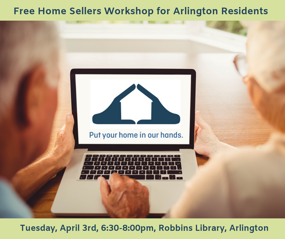 Free Home Sellers Workshop for Arlington Residents