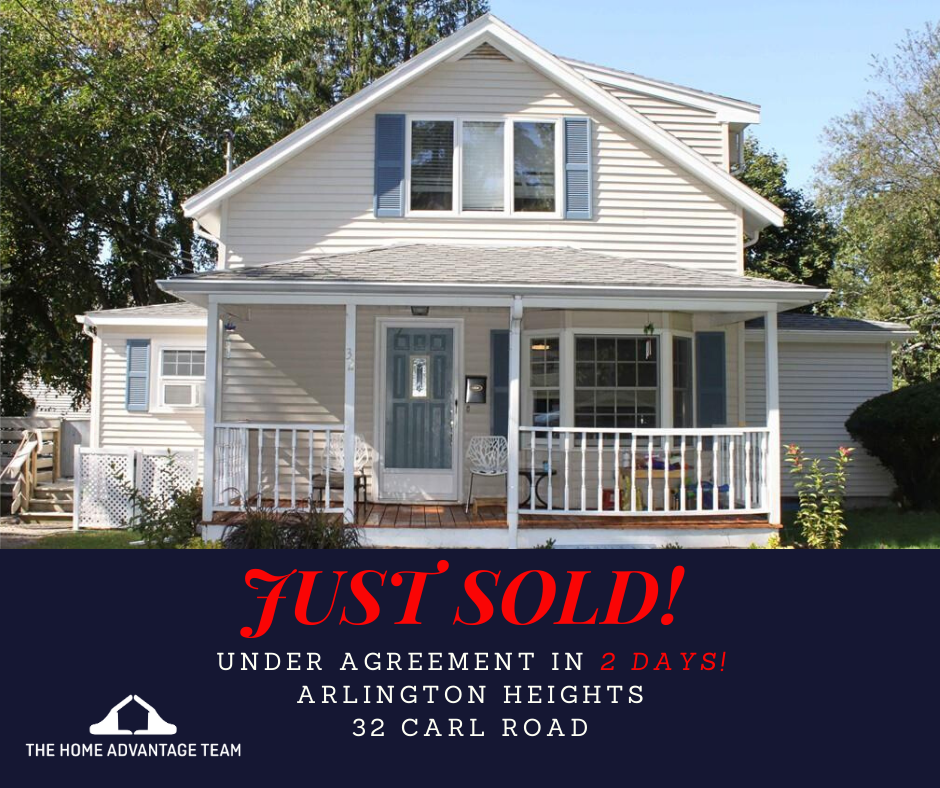 Arlington home SOLD by Steve McKenna & The Home Advantage Team