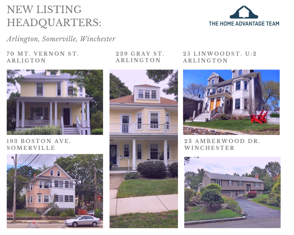 New Listings in Greater Boston: S/F, Condo, 2-family homes for sale