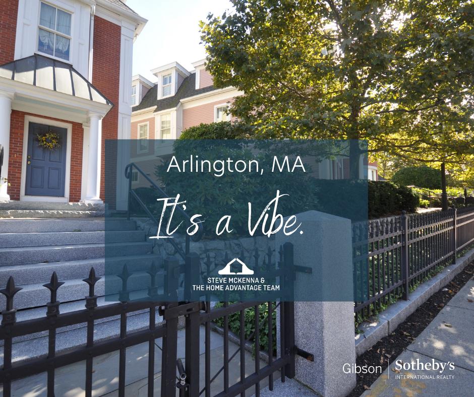 Arlington MA: It's a Vibe.