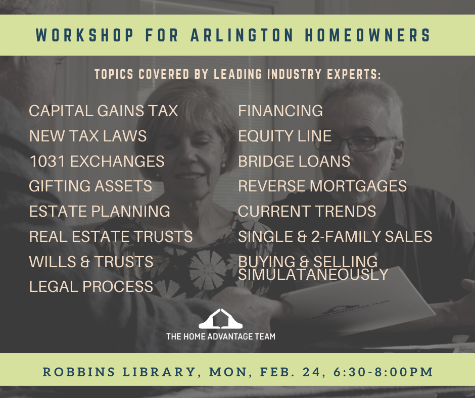 Arlington Homeowners workshop