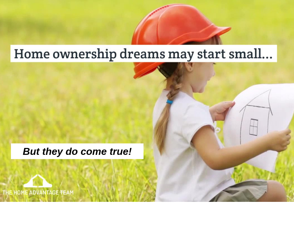 The Home Advantage Team helps real estate dreams come true!