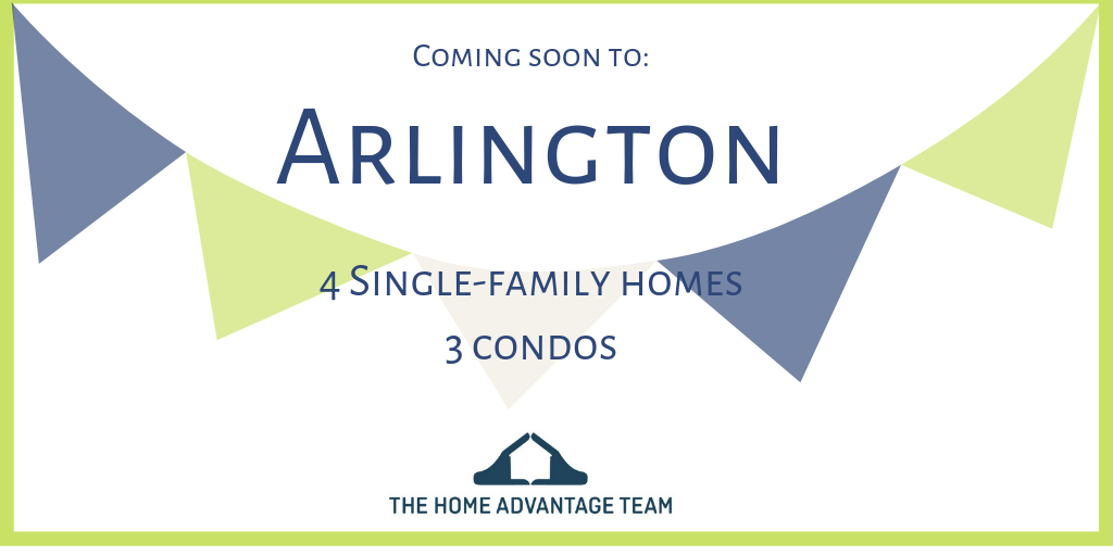 New listings coming soon to Arlington