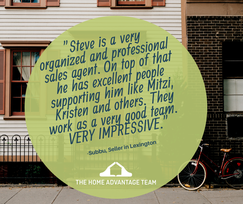 Steve McKenna & The Home Advantage Team Client Testimonial