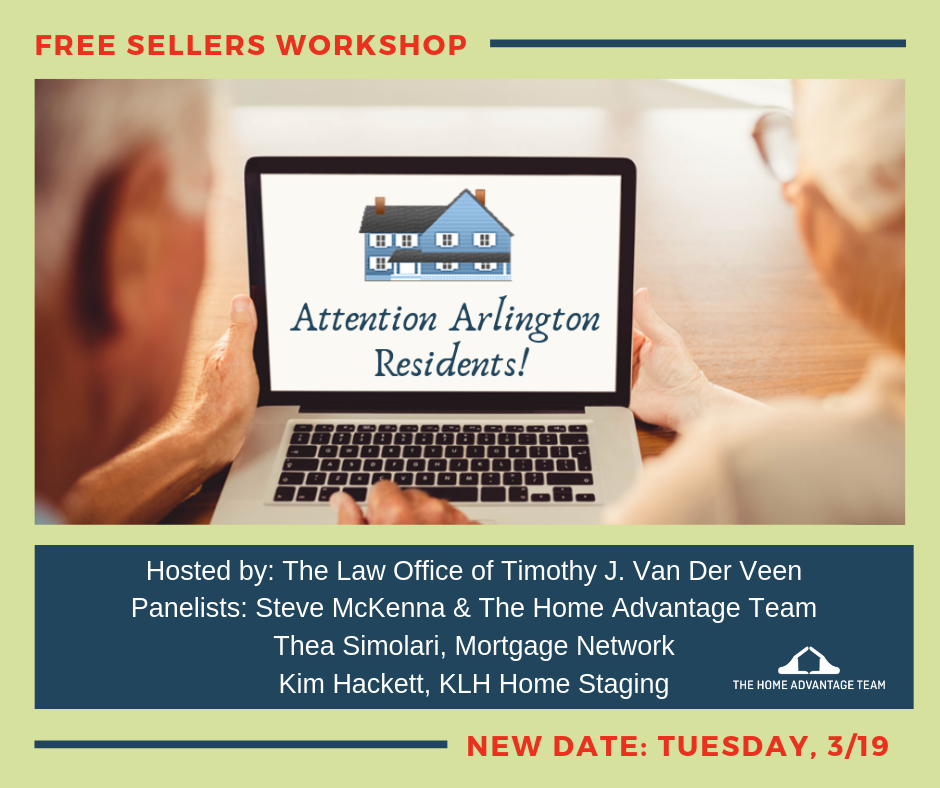Home Seller's Workshop for Arlington Residents