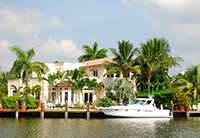 Home with Dock in Sanibel Florida
