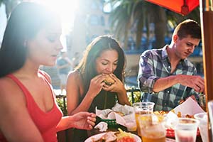 Outdoor Dining in Florida