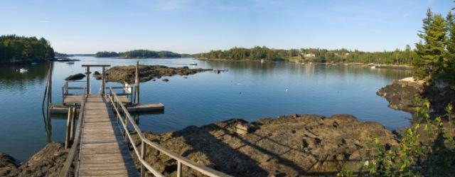 Midcoast Maine waterfront