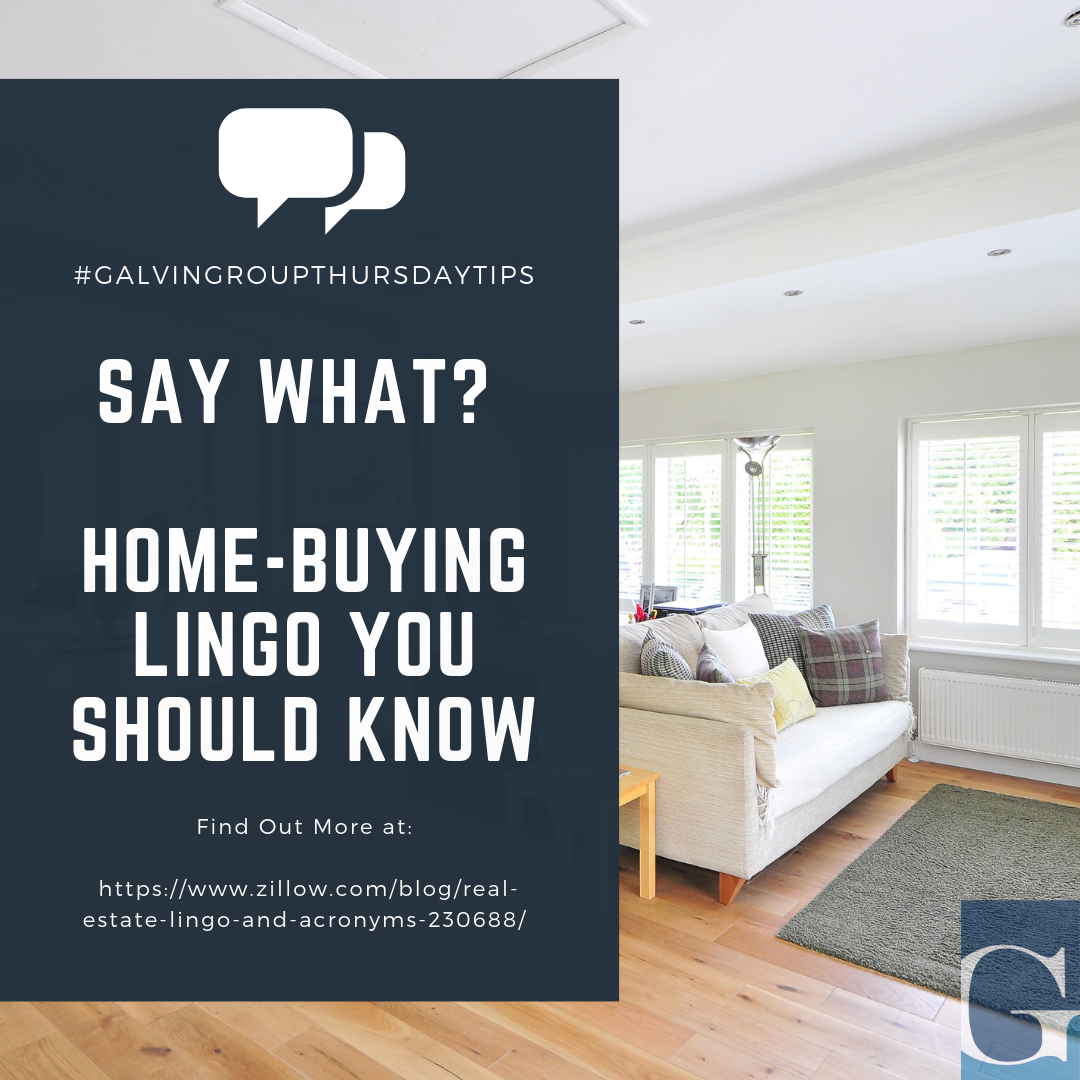 Home Buying Lingo You Should Know