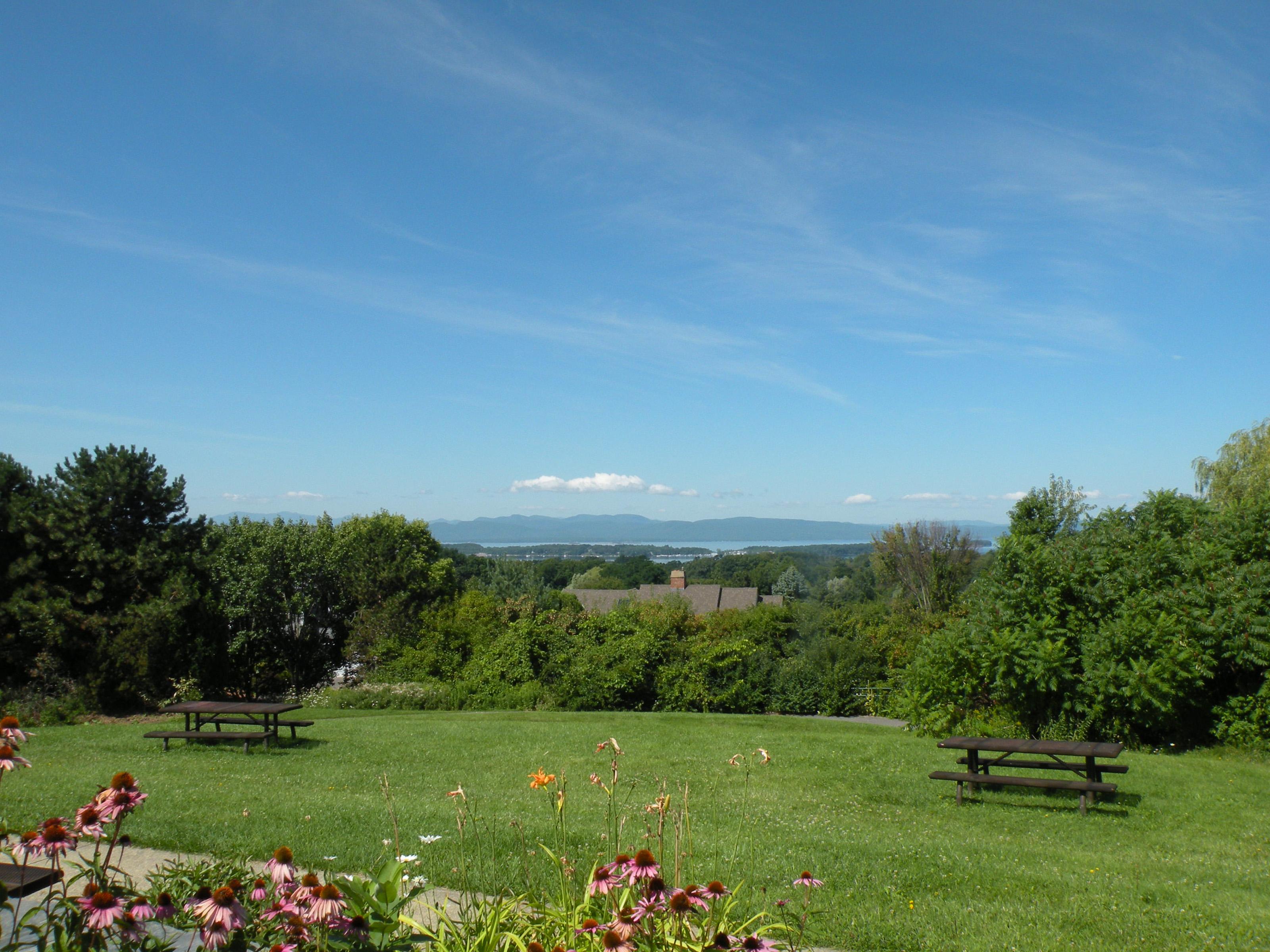 Views of Lake Champlain