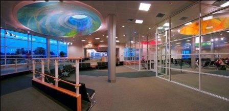 Burlington Vermont International Airport - Waiting Area