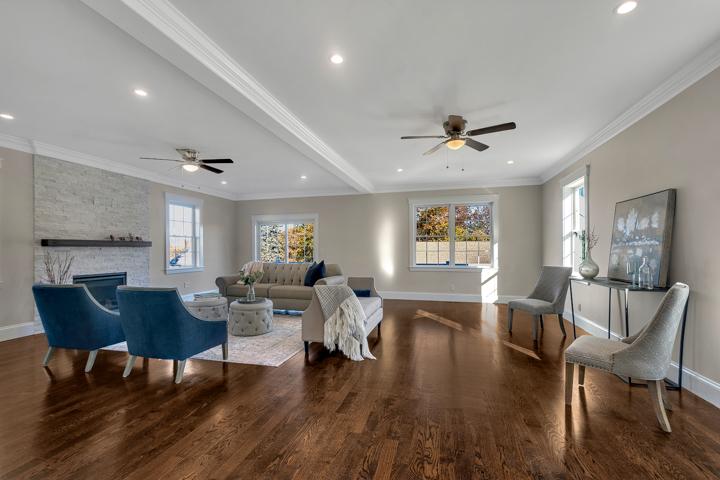 53 Old Mystic Street Arlington MA - Living Room
