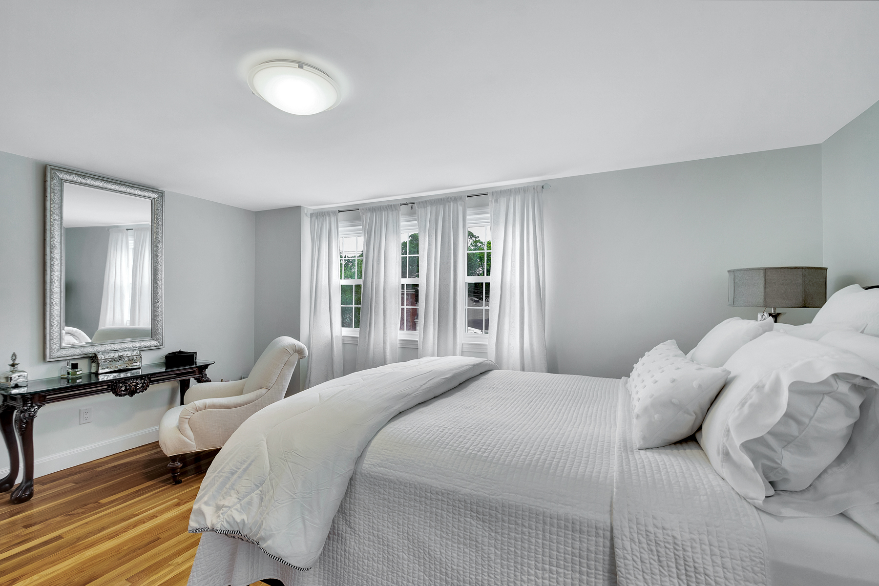 Bedroom of home at 2 Mills Road in Woburn MA