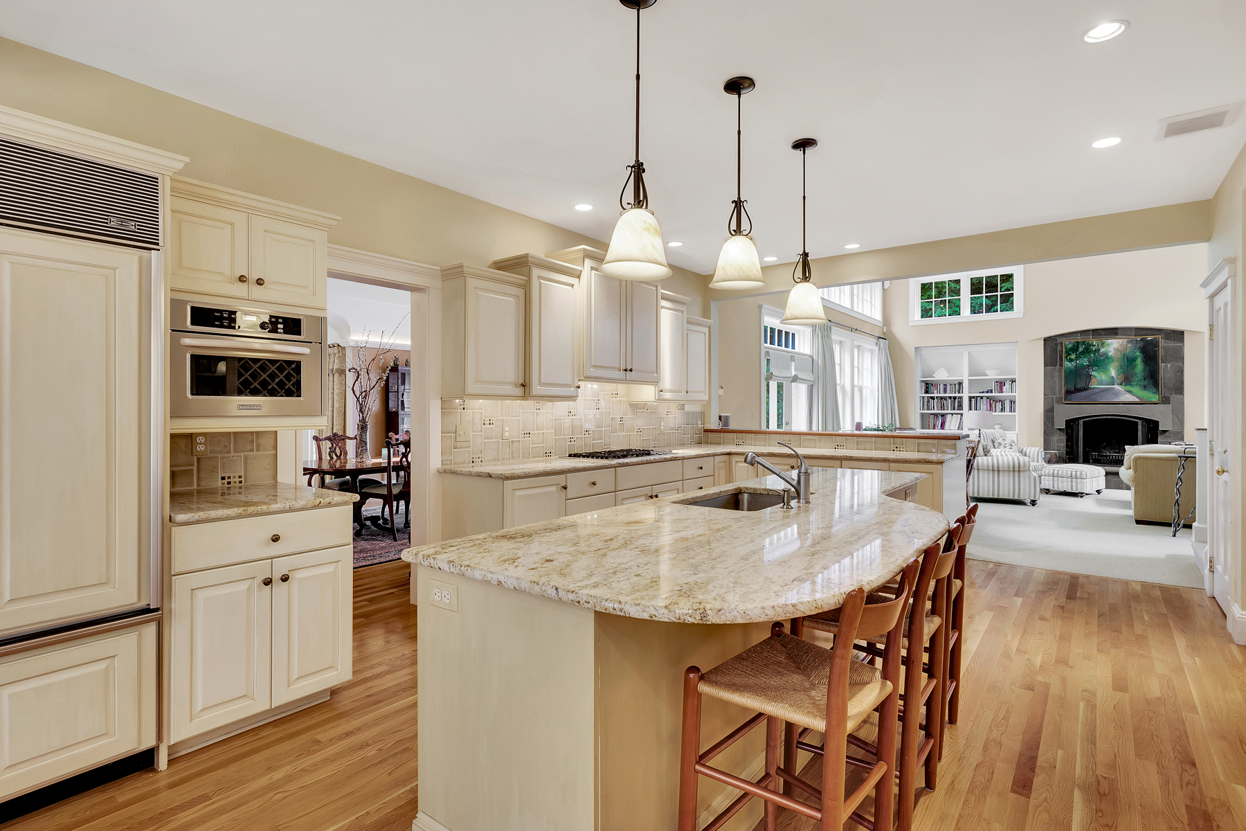 Kitchen of Home at 29 McCall Road in Winchester MA