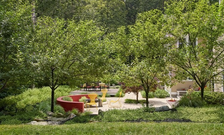 using shaded areas in your landscaping