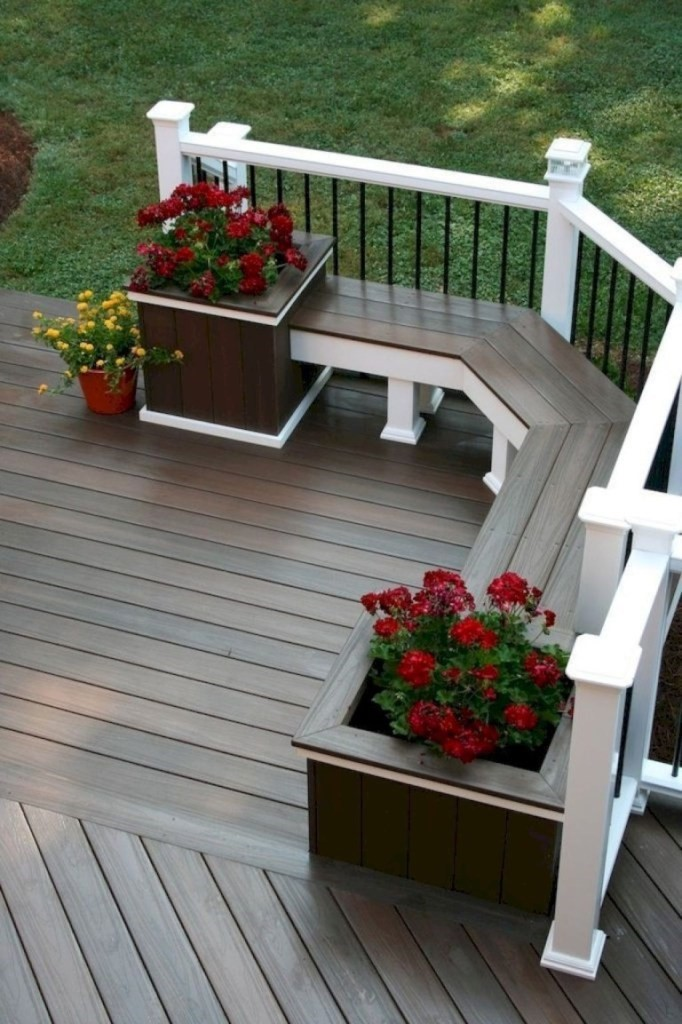 Planters for a kitchen garden.