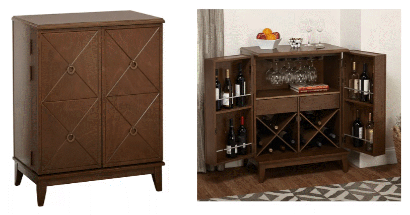 �Wine Storage Cabinet, Wayfair